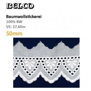 Baumwollstick.50mm  100%Bw