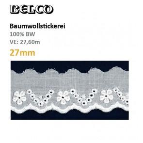 Baumwollstick.27mm  100%Bw