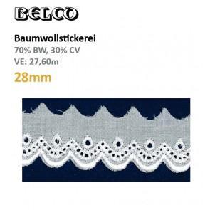 Baumwollstick.28mm  70%Bw/30%CV