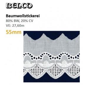 Baumwollstick.55mm  80%Bw/20%CV, ws