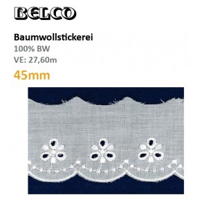 Baumwollstick.45mm  100%Bw