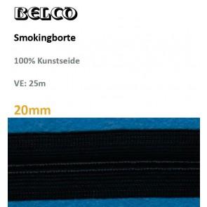Smokingborte 100%KS 30%waschb