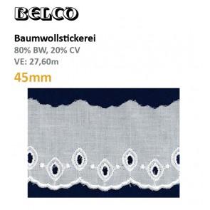 Baumwollstick.45mm  80%Bw/20%CV, ws