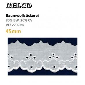 Baumwollstick.45mm  80%Bw/20%CV