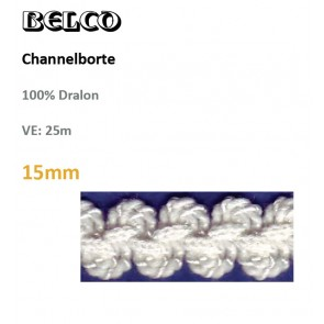 Chanelborte, 100%Dralon,30°wb #