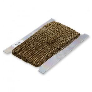 Borte inox, antikgold    22mm