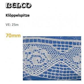 Klöppelspitze,  70mm     100%PE *