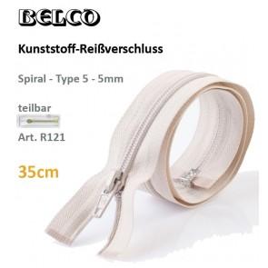 Reißverschl. BELCO KSt/5mm/sep