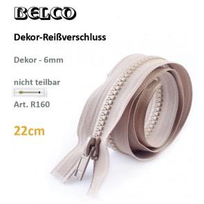 Reißvershl.BELCO Dekor 6mm/fx