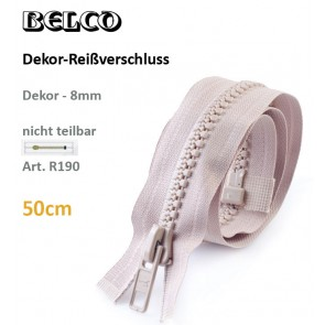 Reißvershl.BELCO Dekor 8mm/fx