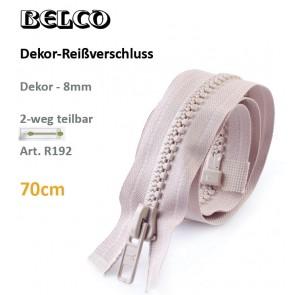 Reißvershl.BELCO Dekor 8mm/DS