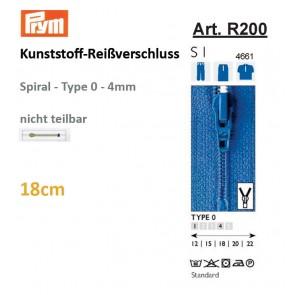 Reißverschl. PRYM Fla-pac, T.0, 18cm