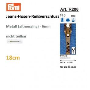 Jeans-Reißvers.PRYM,Fla-Pac, 18cm
