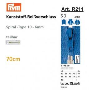 Reißv. PRYM Fla-Pac TX/sep. 70cm