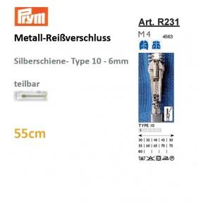 Reißverschl. PRYM Met.si TX/sep,55cm#