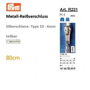 Reißverschl. PRYM Met.si TX/sep,80cm