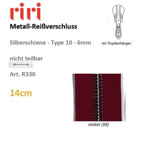 Reißverschl.RIRI-Metall TX/fi#