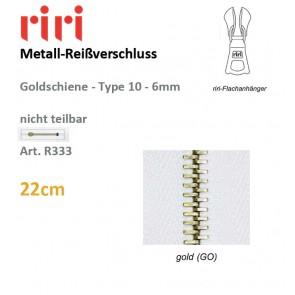 Reißversch.RIRI-Met.go TX/fix