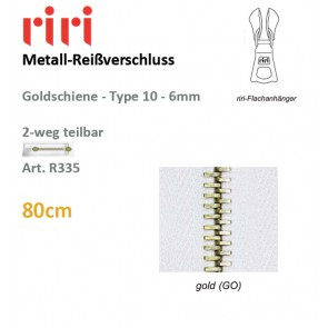 Reißversch.RIRI-Met.goTX/DS-Combi