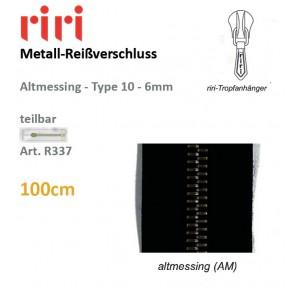 Reißversch.RIRI-Met.ameTX/sep#