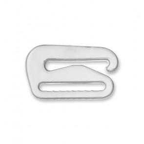 12mm BH-Hakenverschluß, klar,ws,sch