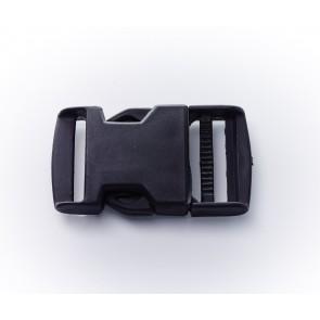 30mm Kunststoff-RucksackSchnallen, ws, gefärbt