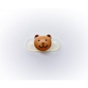 18mm Kordelstopper Teddybär *