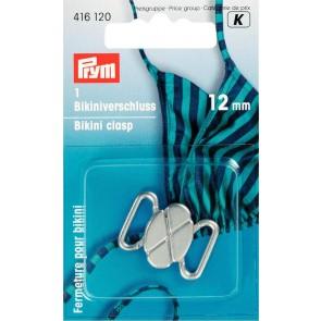 P/SB Bikiniverschl.12mm/silb.
