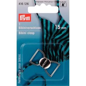 P/SB Bikiniverschl.15mm/silb.