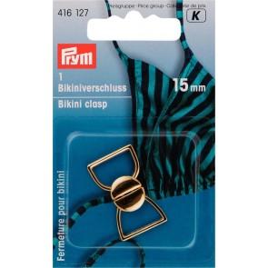 P/SB Bikiniverschluss 15mm/go