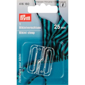 P/SB Bikiniverschl.25mm/trans