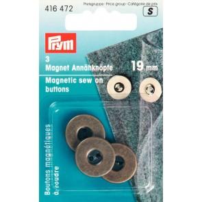P/SB Magnet-Annähknopf 19mm ame
