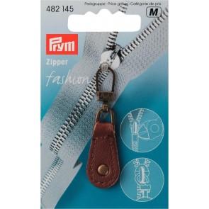 P/SB Fashion-Zipper Leder braun #