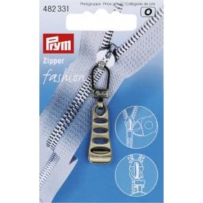 P/SB Fashion-Zipper Leiter altmessing
