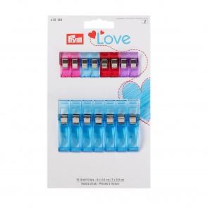 Prym Love Stoff Clips 2,6 + 5,5 cm