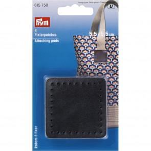 P/SB Fixierpatches für Taschengriff 5,5 x 5,5cm schwarz #