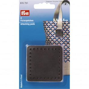 P/SB Fixierpatches für Taschengriff 5,5 x 5,5cm braun #