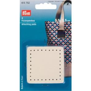 P/SB Fixierpatches für Taschengriff 5,5 x 5,5cm beige #