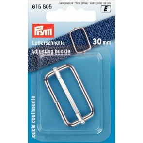 P/SB Leiterschnalle 30 mm silber