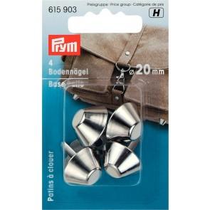 P/SB Bodennägel für Taschen 20mm silber #