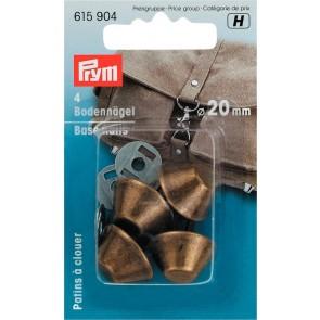 P/SB Bodennägel für Taschen 20mm altmessing #