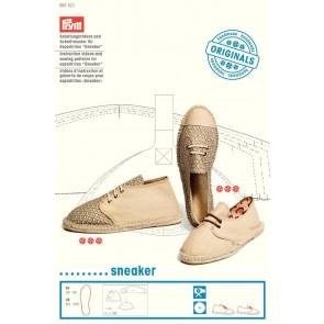 Anleitungsvideo & Schnittmuster f. Espadrilles Sneaker