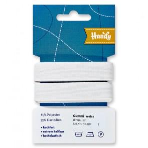 HANDY-SB Gummi weiß,18mm a 2m