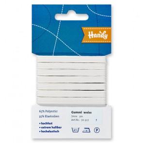 HANDY-SB Gummi weiß, 7mm a 3m