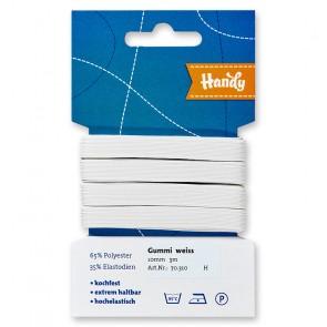 HANDY-SB Gummi weiß,10mm a 3m