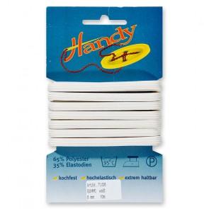 HANDY-SB Gummi weiß, 6mm a 10m