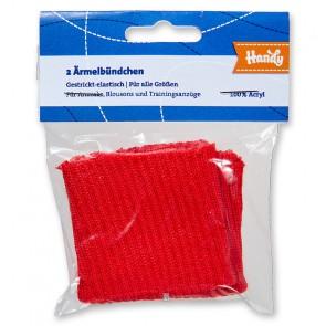 HANDY Ärmelbündchen, rot
