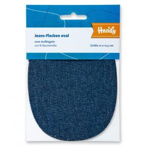Jeans-Fleck HANDY,ov.10x12,5cm dbla
