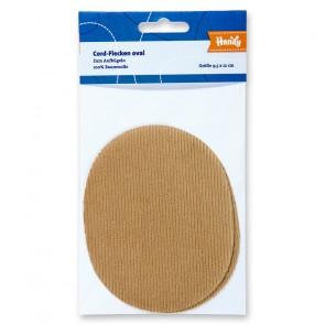 HANDY Cordflecken, beige