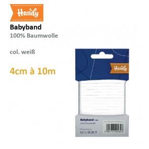 Babyband HANDY weiß 4mm; 10m